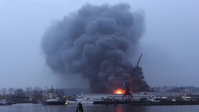 حريق السويد