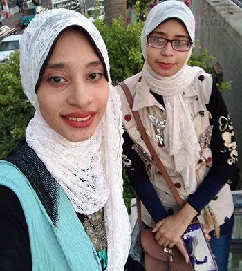 الشقيقتان الاء ودعاء