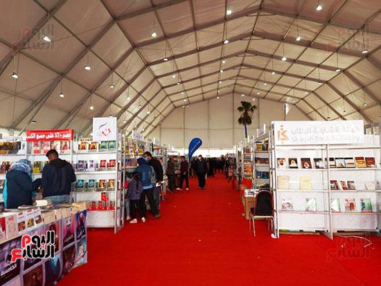 اجنحة-معرض-الكتاب-بالاسكندرية