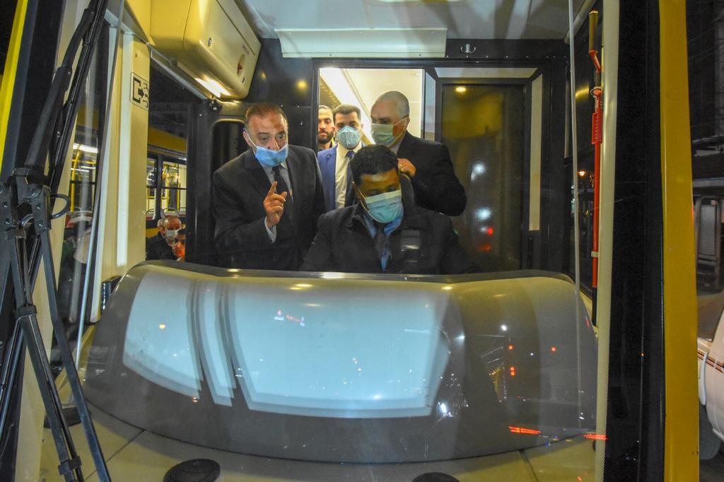 تشغيل 7 عربات ترام أوكرانية جديدة بالإسكندرية (4)
