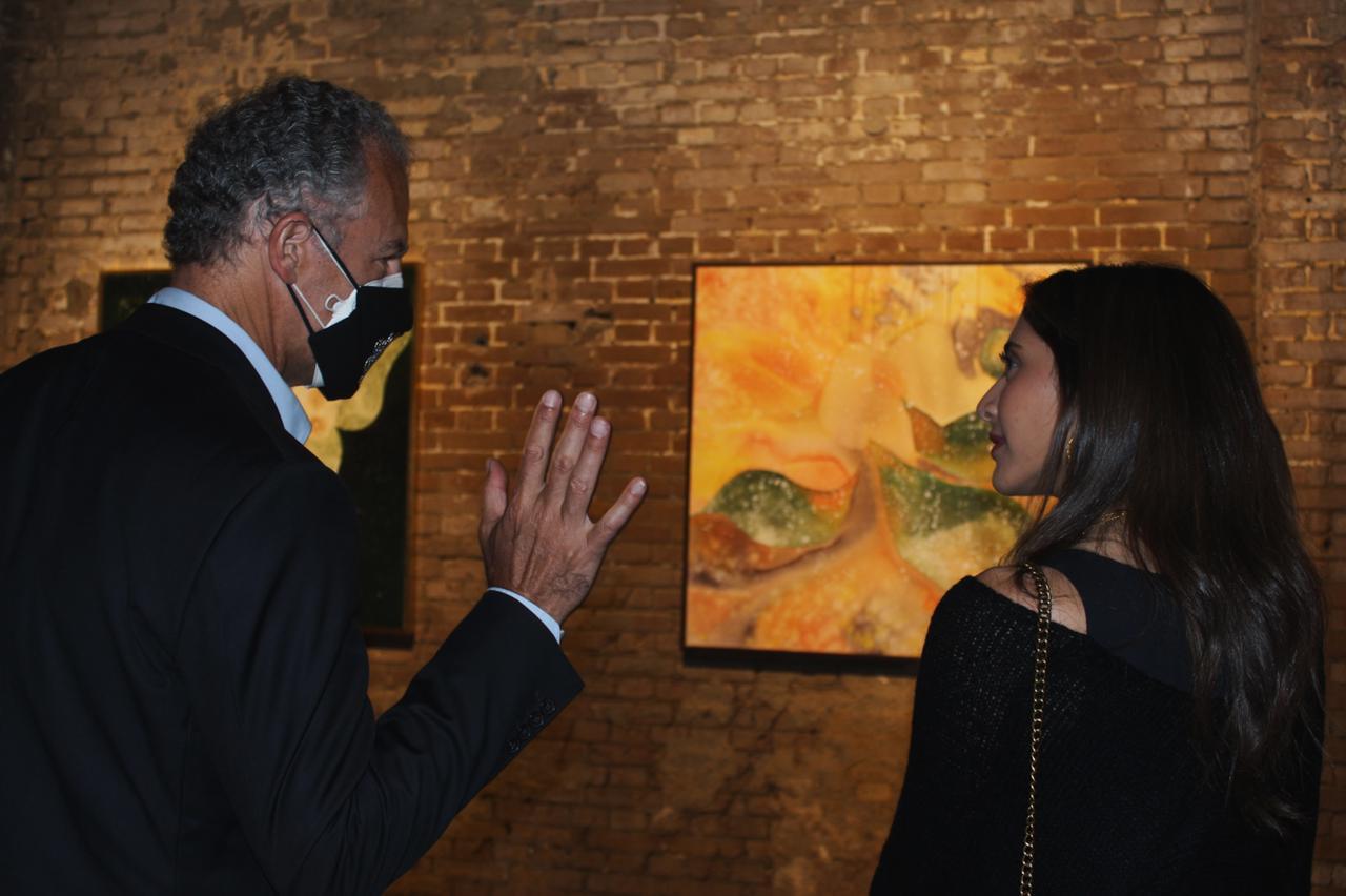 معرض الفنانة نادين الرشيدى (1)