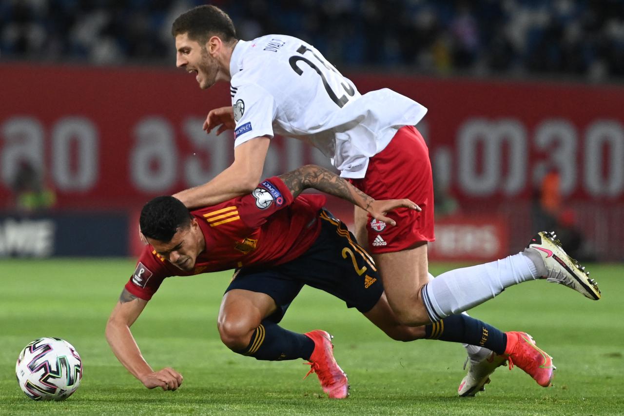 جورجيا ضد إسبانيا (4)