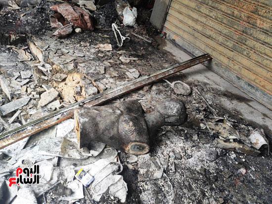 حريق-أكشاك-محطة-الزقازيق-(9)