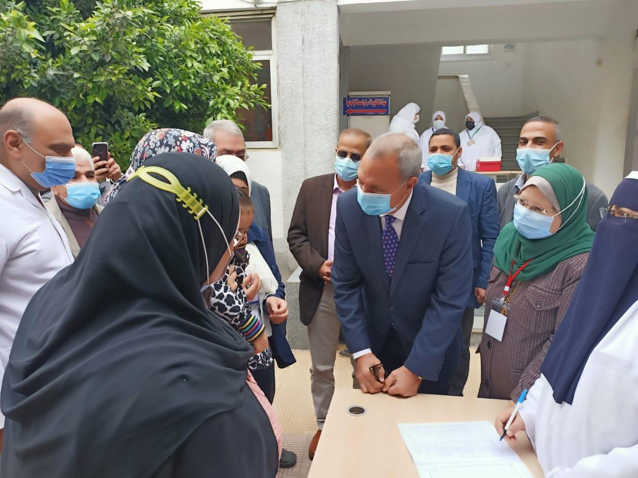 تدشين حملة التطعيم ضد شلل الاطفال بالقليوبية