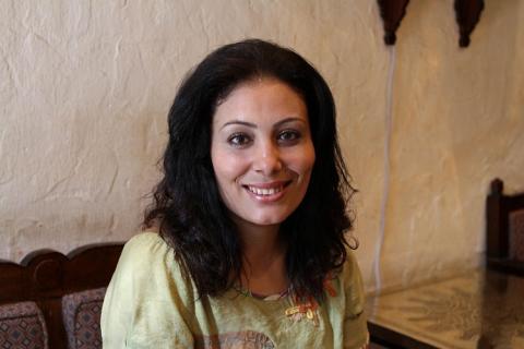 الروائية منصورة عز الدين