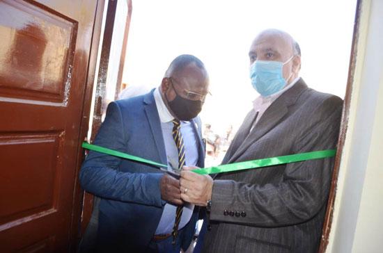 إفتتاح-مشروع-إعادة-إعمار-41-منزل-بقرية-الغريرة
