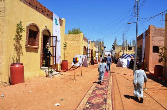 قرية-الغريرة-تحتفل-بإفتتاح-المنازل-الجديدة