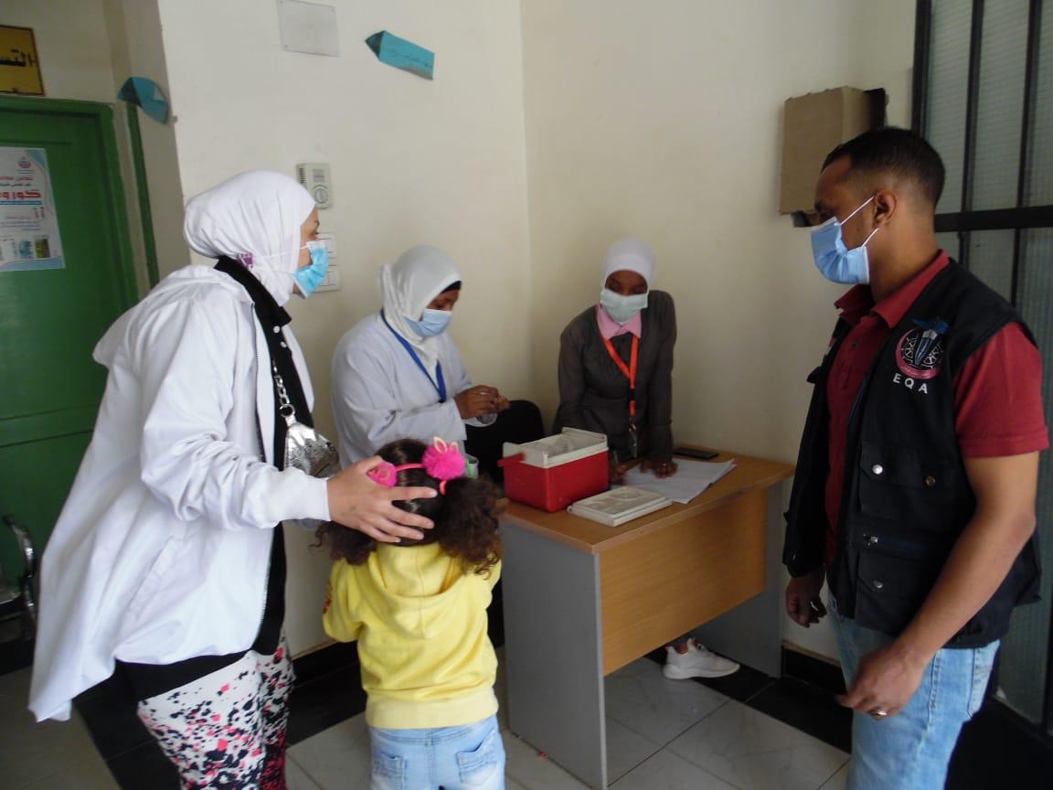 حملة التطعيم ضد شلل الأطفال