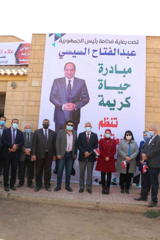 جامعة-المنوفية-توجه-قافلة-متكاملة-لقرية-شما-إحدى-قرى-حياة-كريمة