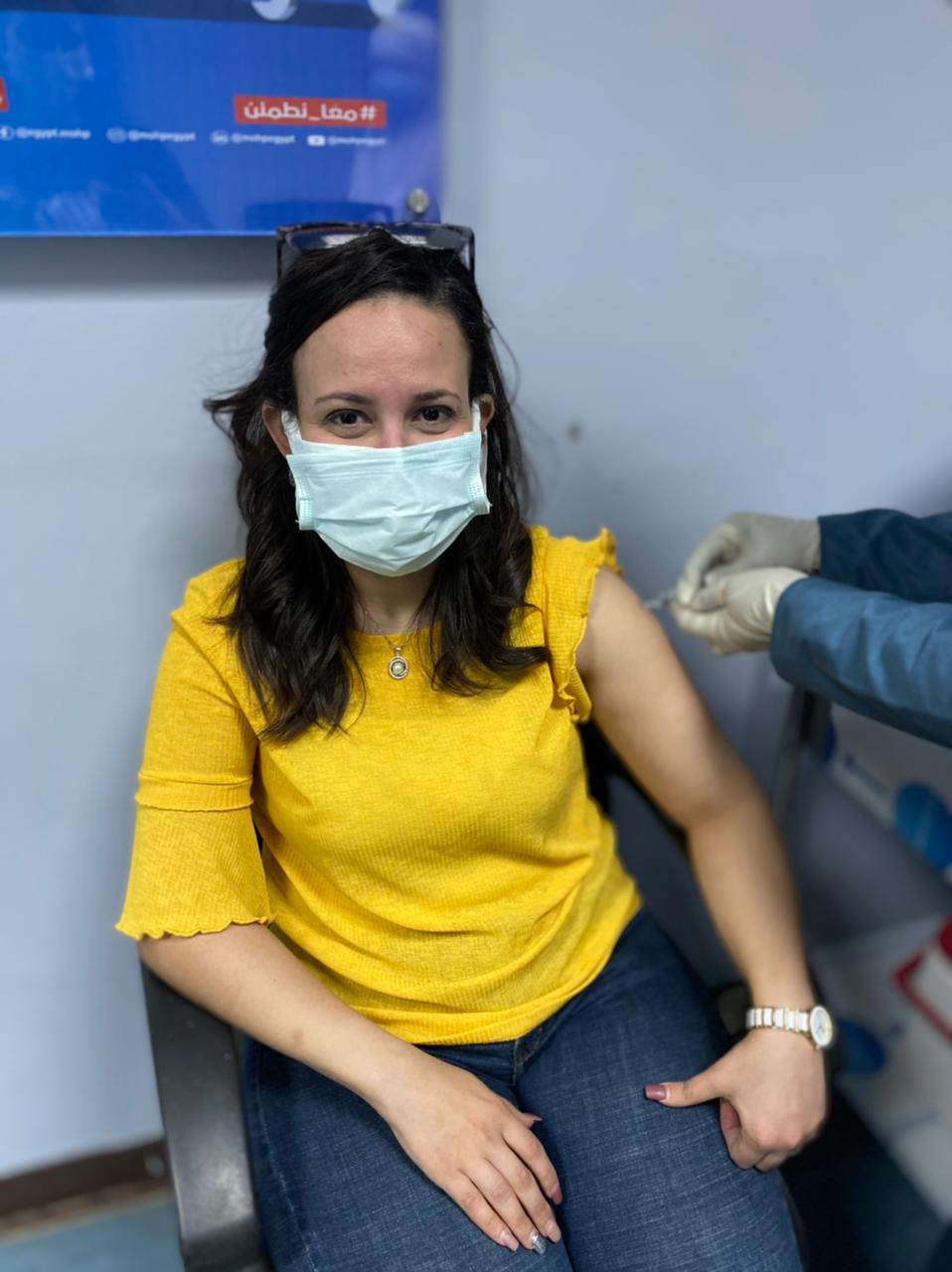 جانب من تلقى لقاحات فيروس كورونا بالاقصر