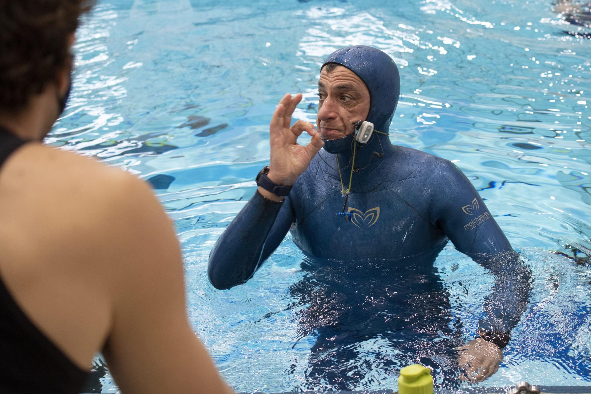 غطاس كرواتى 54 عاما يحبس أنفاسه أكثر من 24 دقيقه تحت الماء (2)