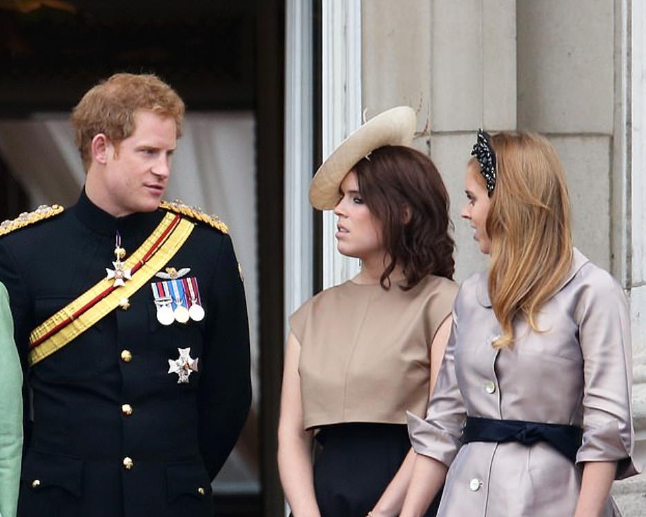 هارى وأوجينى وبياتريس