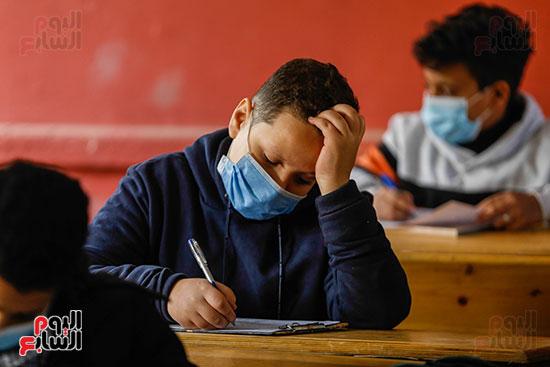 الامتحان المجمع لطلاب الصف الأول الإعدادى للترم الأول (23)