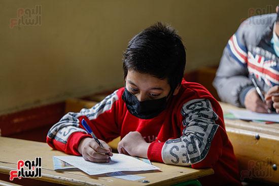 الامتحان المجمع لطلاب الصف الأول الإعدادى للترم الأول (19)