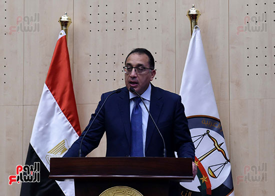 رئيس الوزراء يزور مقر النائب العام لمتابعة جهود التحول الرقمى (24)