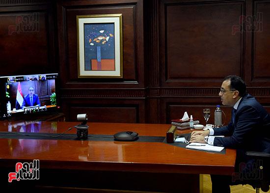 رئيس الوزراء يُلقي كلمة نيابة عن الرئيس السيسي حول متابعة تنفيذ استراتيجية م