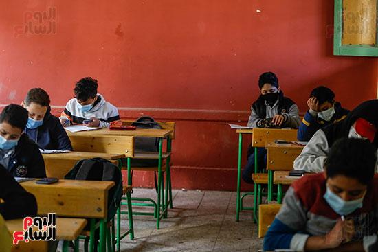 الامتحان المجمع لطلاب الصف الأول الإعدادى للترم الأول (27)