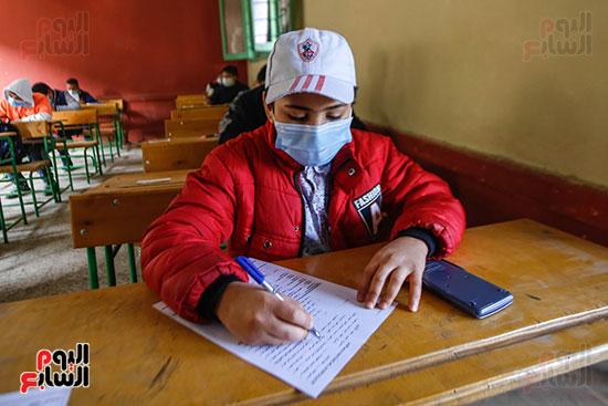 الامتحان المجمع لطلاب الصف الأول الإعدادى للترم الأول (17)