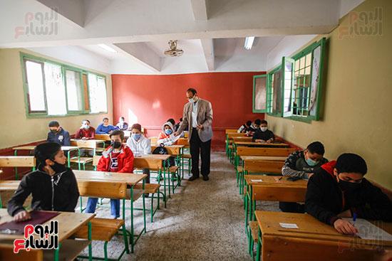 الامتحان المجمع لطلاب الصف الأول الإعدادى للترم الأول (12)