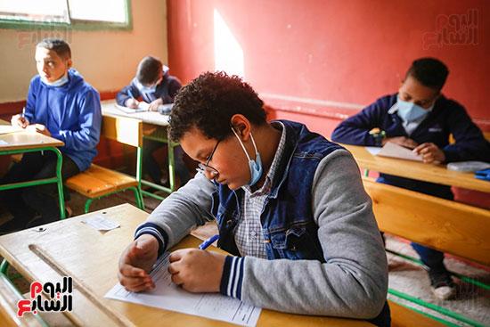 الامتحان المجمع لطلاب الصف الأول الإعدادى للترم الأول (15)