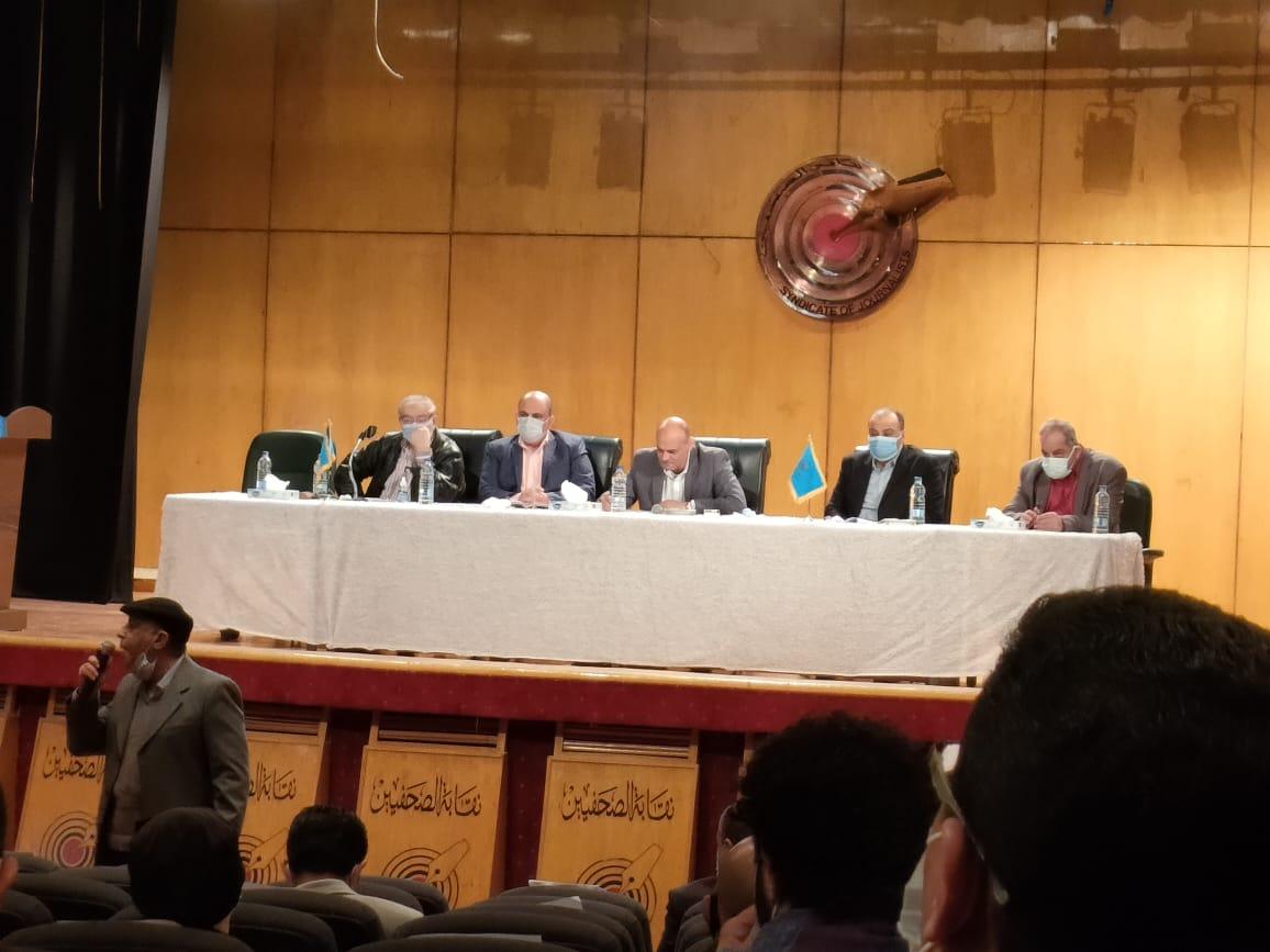 اجتماع اللجنة المشرفة على انتخابات نقابة الصحفيين (3)