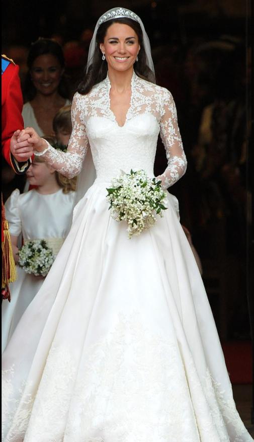 فستان زفاف كيت ميدلتون