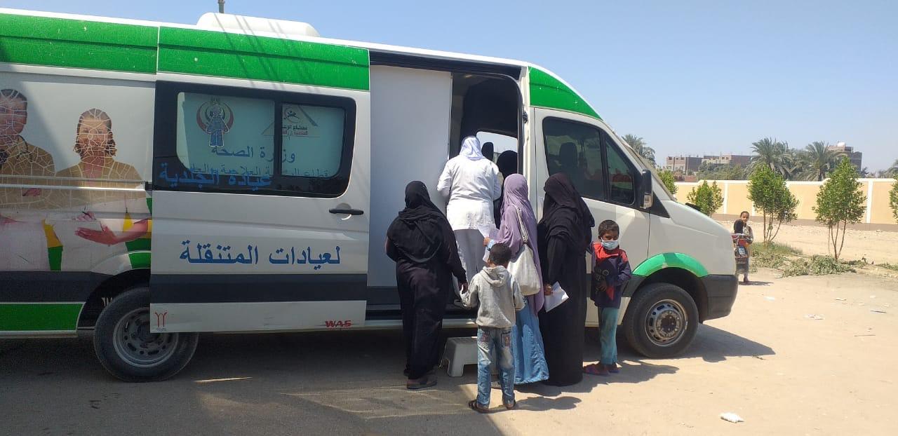 القافلة الطبية بقرية الخزام