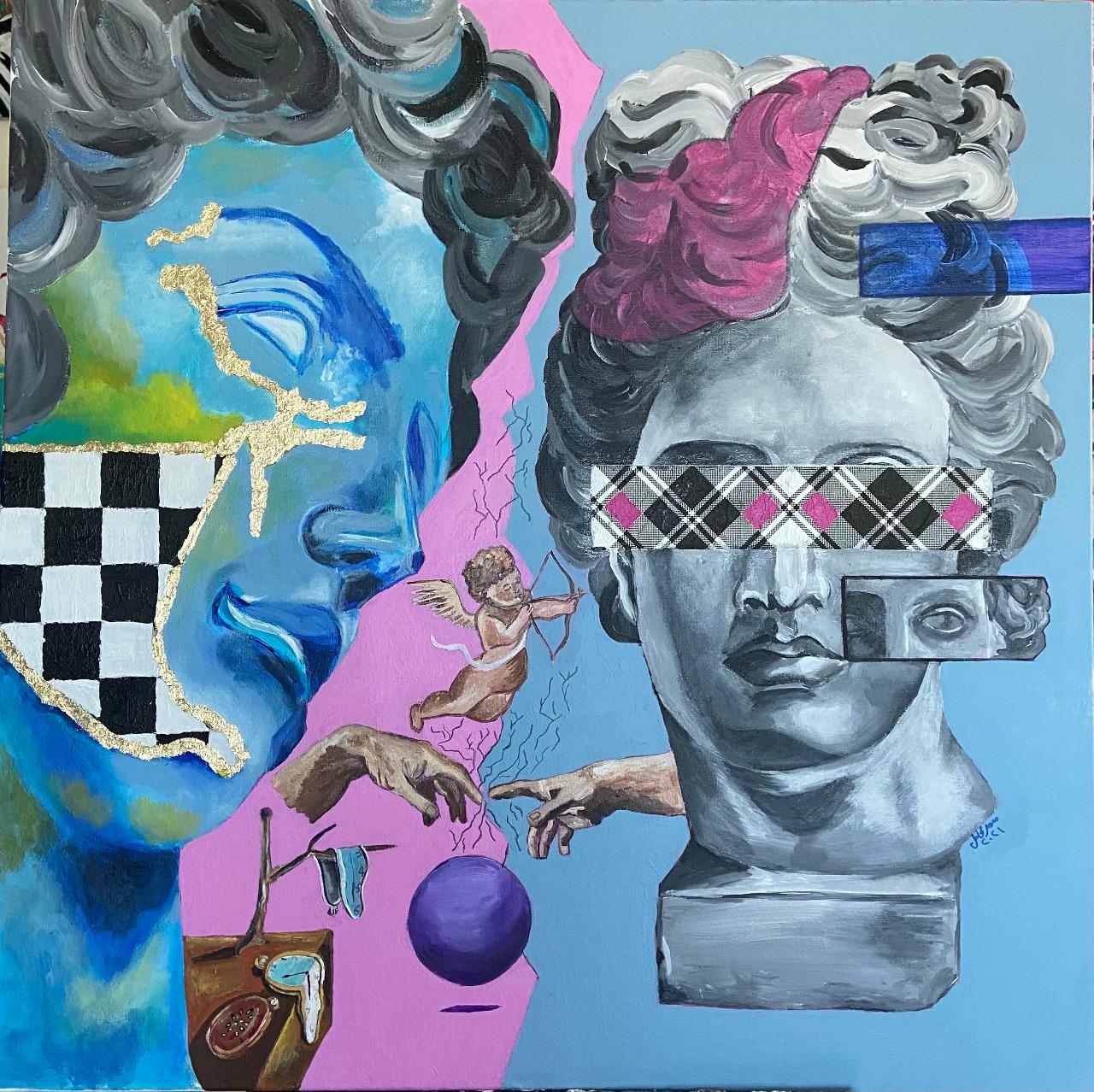لوحة للفنانة سمر كامل