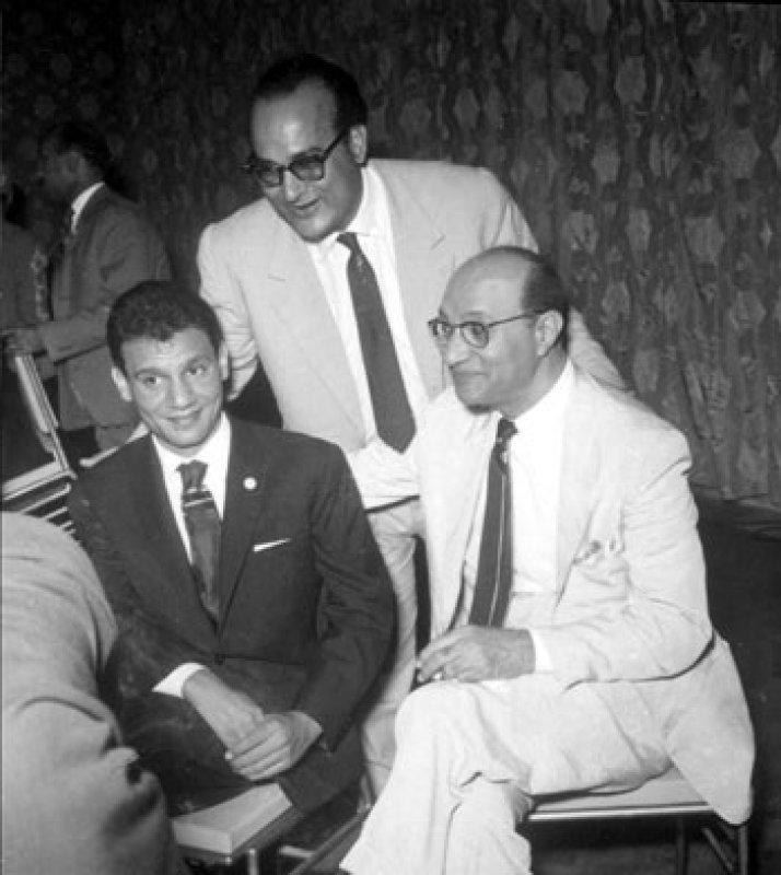 عبد الحليم حافظ ومحمد عبد الوهاب