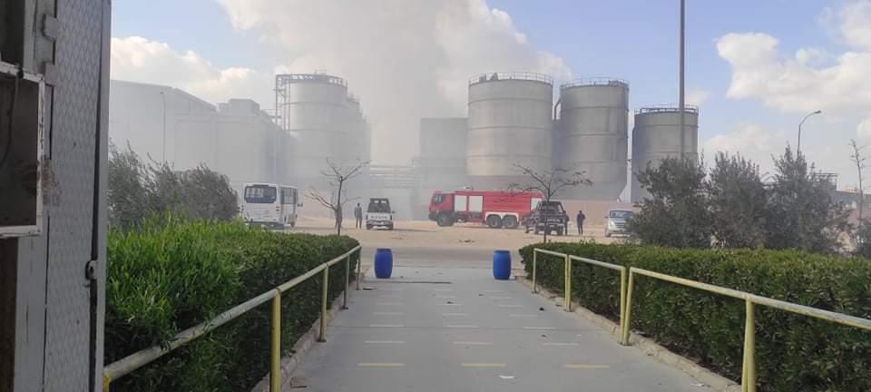 حريق مصنع الكرتون (4)