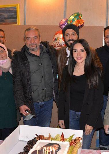 عيد ميلاد انجى علاء