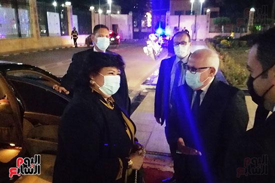 اللواء-عادل-الغضبان-يستقبل-الدكتور-إيناس-عبدالدايم