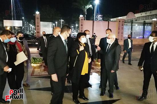 محافظ-بورسعيد-يستقبل-الدكتورة-إيناس-عبدالدايم