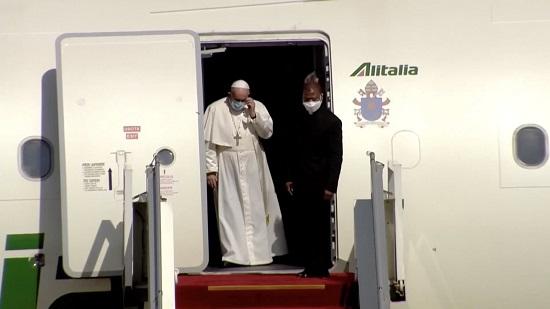 وصول البابا (2)
