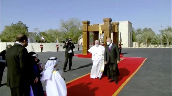 وصول البابا فرنسيس (3)
