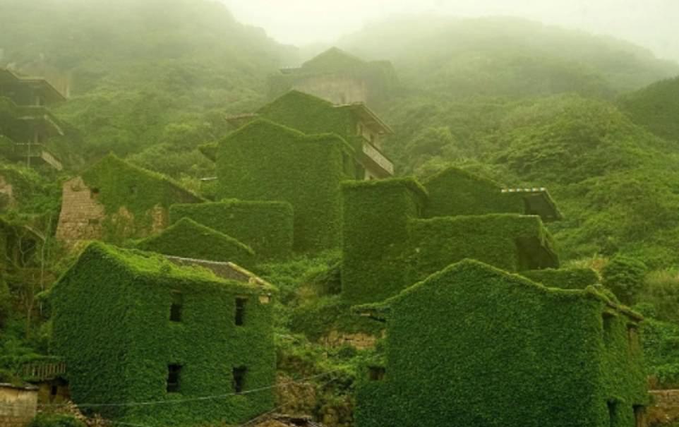 قرية رية Houtouwan بالصين