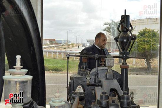المهندس أحمد شوقى وأول وحدة بخارية لتوليد الكهرباء
