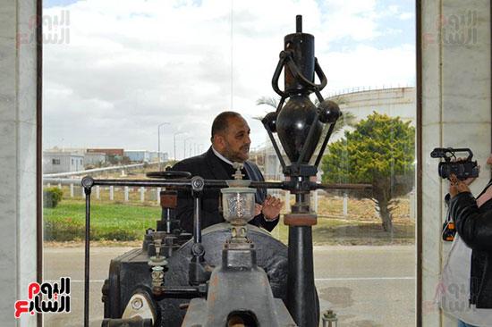 المهندس أحمد شوقى مدير محطة سيدى كرير للكهرباء