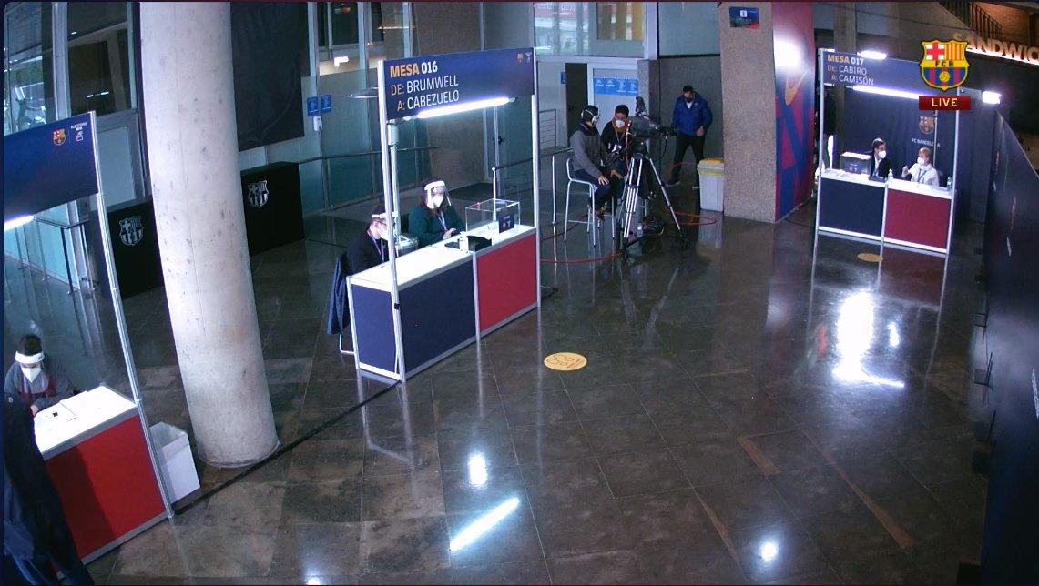 مراكز إقتراع إنتخابات برشلونة