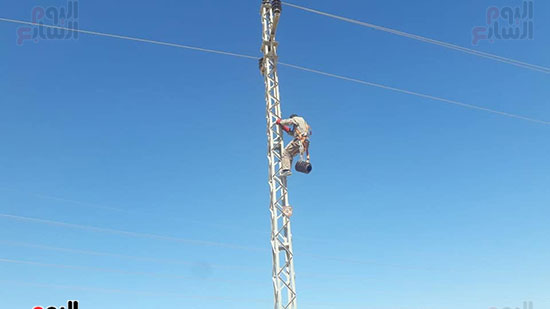 تنفيذ-اعمال-صيانة-خطوط-كهرباء
