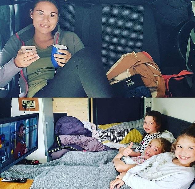 شاب يحول حافلة إلى منزل لحبه للسفر لتوفير نفقات الفنادق في بريطانيا (1)