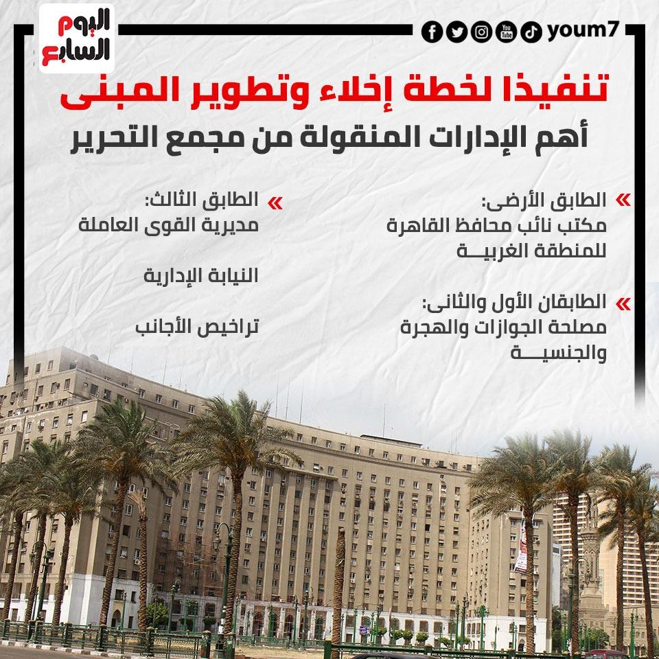 خطة تطوير مجمع التحرير