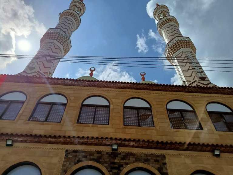 أحد المساجد المقرر افتتاحها