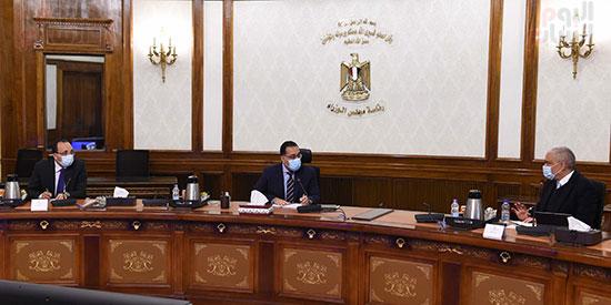 رئيس الوزراء يلتقى الرئيس التنفيذى لمجموعة العربى (2)
