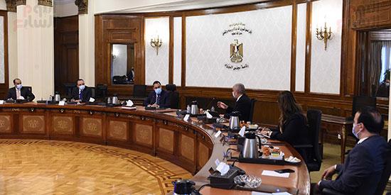رئيس الوزراء يلتقى الرئيس التنفيذى لمجموعة العربى (4)
