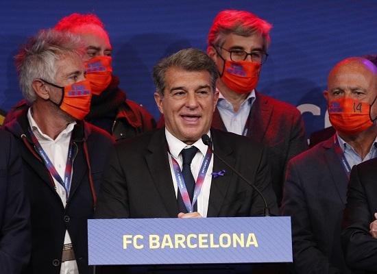 رئيس برشلونة جوان لابورتا