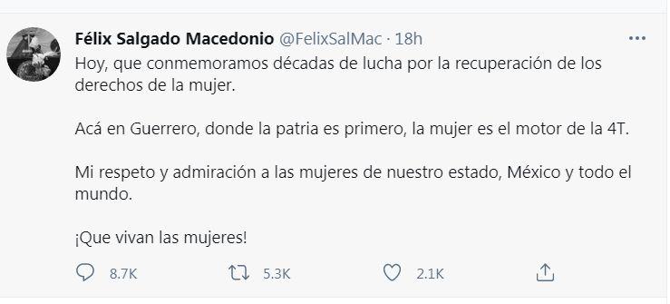 تغريدة المرشح المكسيكي