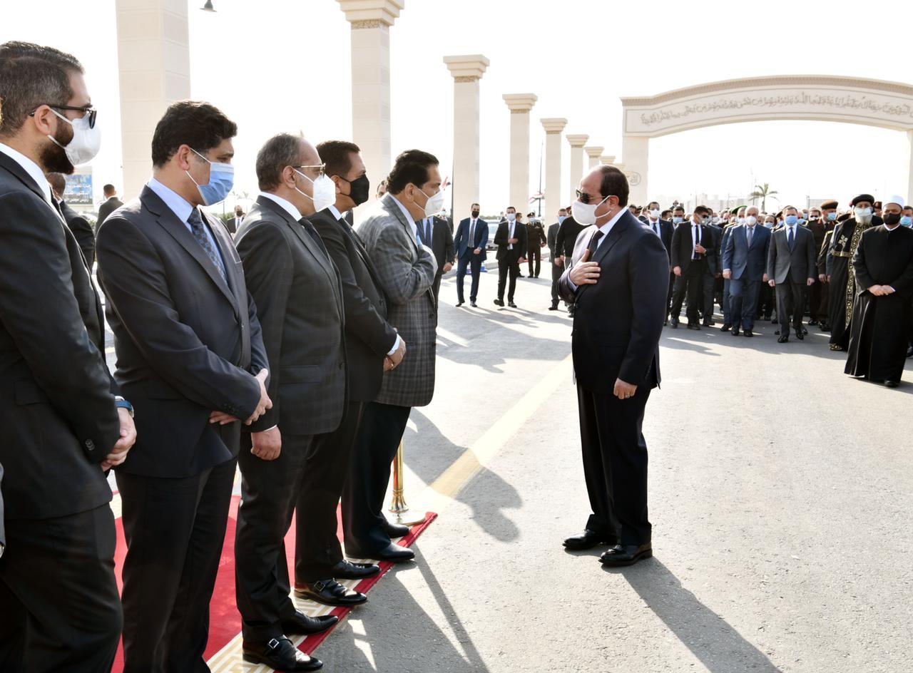 الرئيس السيسى يعزى أسرة الراحل