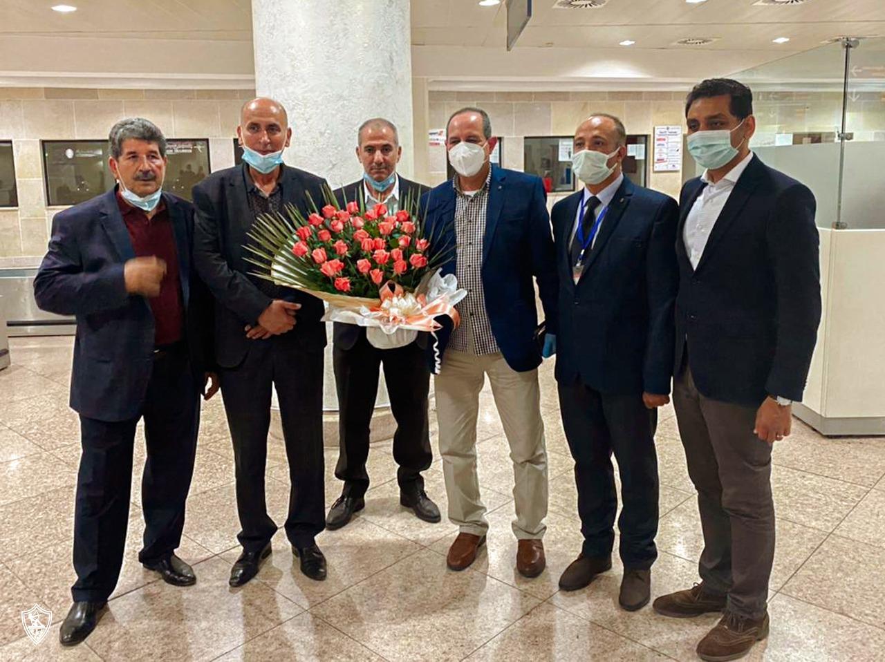 Receiving the Zamalek mission in Algeria