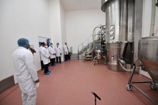 افتتاح مدينة الأدوية المقامة داخل منطقة الخانكة في محافظة القليوبية (10)
